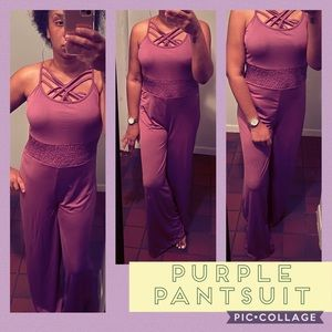 NWT Alexis Purple Pantsuit